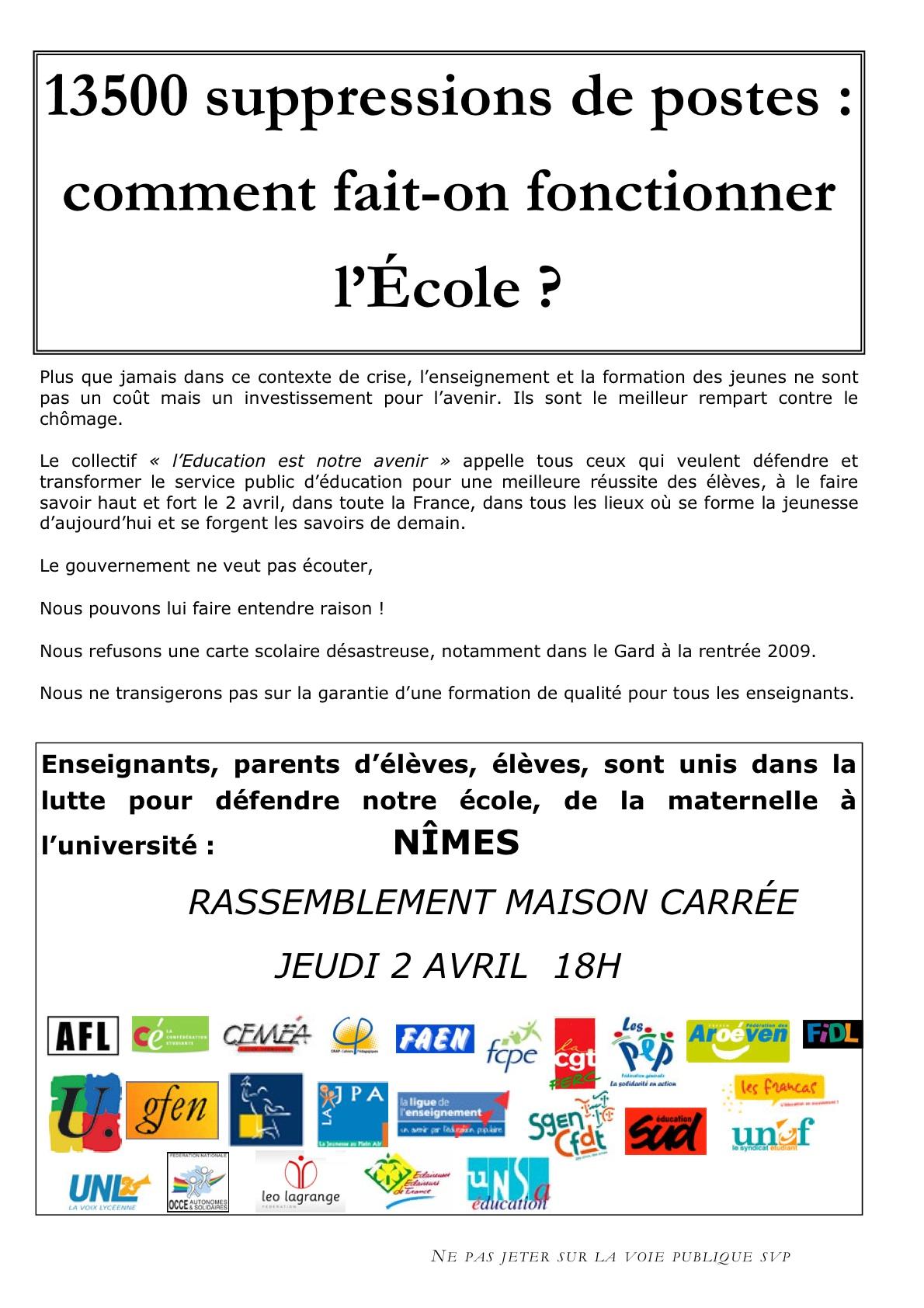 Tract FCPE 2 avril